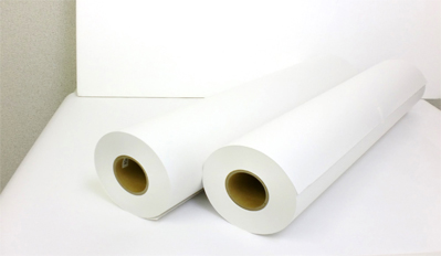 インクジェット用紙(普通紙)64g/㎡ 594X120m 1箱/2本入